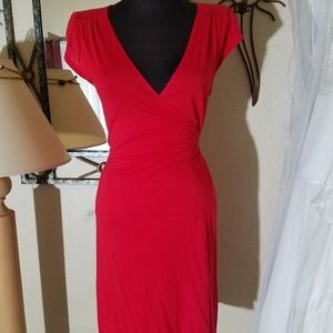 Old navy small red wrap dress.